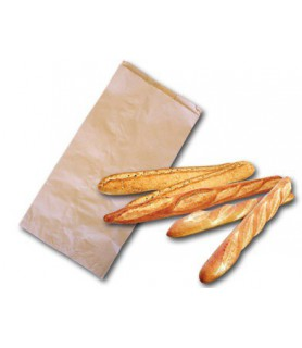 Sacs kraft regroupement de pain