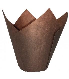 Moule Tulicup marron en papier