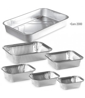 Barquettes aluminum cuisson four et conservation chambre froide