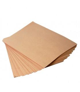 Papier kraft brun vergé