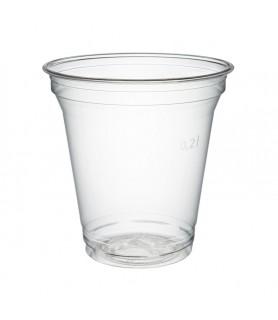 "Gobelets plastique ""Polarity"" vente a emporter boissons froides"