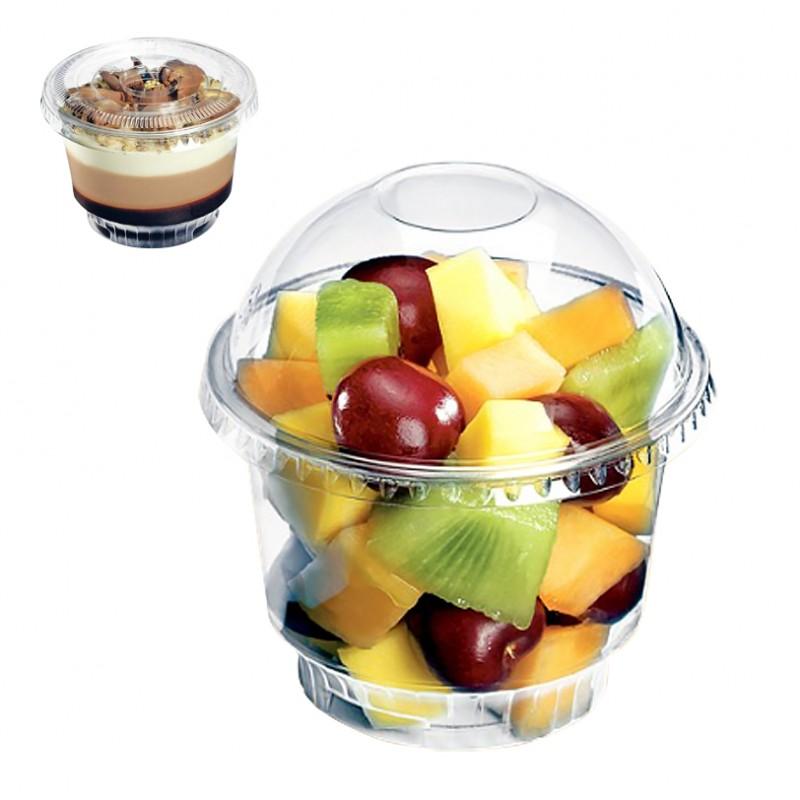 Coupe dessert cristal emballage transparent dessert
