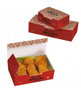 Boîte nuggets à emporter