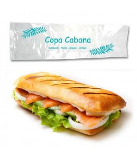 Sac sandwich transparent personnalisé