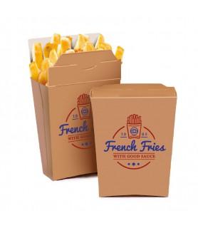 Boite à frites personnalisée