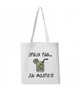 Sac Tote bag coton 38x42 - blanc 140g personnalisable