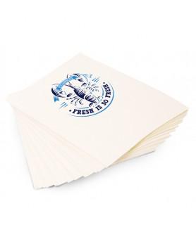 Papier thermo blanc en format personnalisé