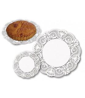 dentelle ronde pour patisseries rondes et tartes