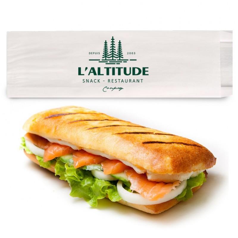 Sac sandwich personnalisé