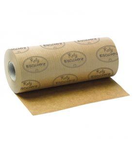 Papier kraft brun personnalisé - bobine papier alimentaire avec impression