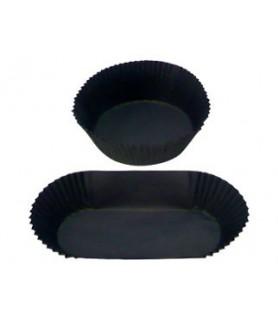 caissette noire papier alimentaire patisserie muffins, choux, cupcakes, éclairs