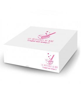 Boîte pâtissière personnalisée - boite gateau personnalisée