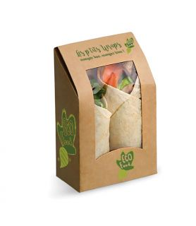 Boite wraps et tacos personnalisée - vente à emporter