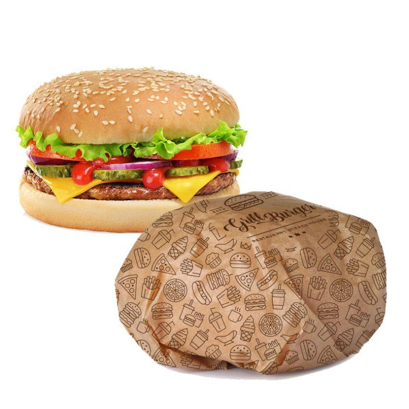 Papier anti-gras personnalisé
