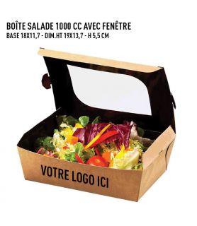 Boîte salade 1000 avec fenêtre