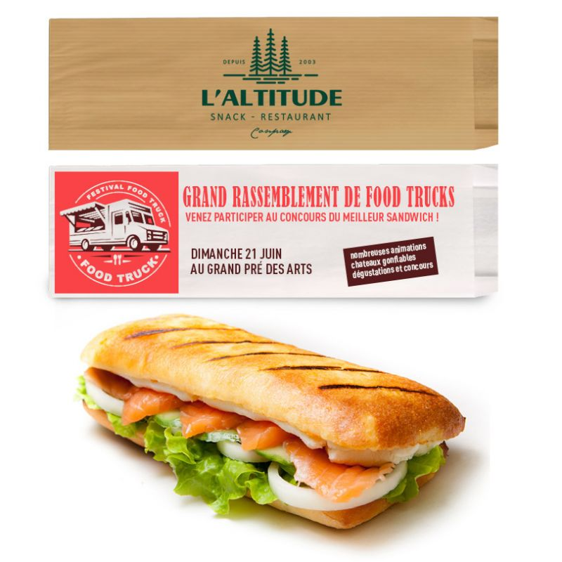 Sac sandwich personnalisé - EXPRESS