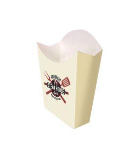 MOYENNE frite carton blanc
