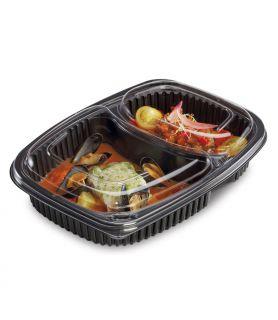 Barquette Cookipack - barquette alimentaire avec compartiments