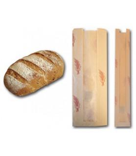 Sacs pain kraft fenêtre