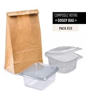 Pack Doggy Bag ECO premier prix - la solution pour les restaurateurs
