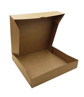 Boîte pâtissière kraft brun