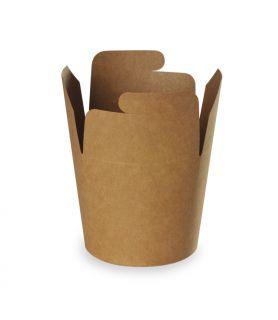 Boîtes à pâtes kraft brun