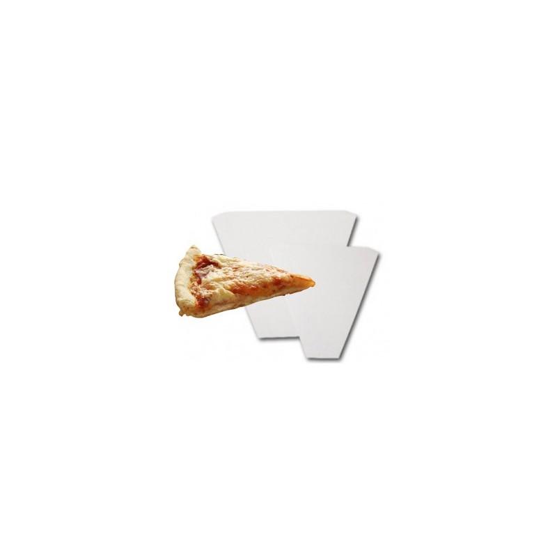 vente part pizza individuelle emballage triangle rainé en carton