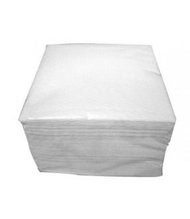 serviette blanche en papier vaisselle jetable écologique