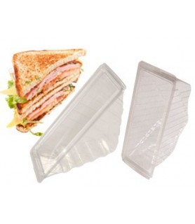 coque à sandwich triangle