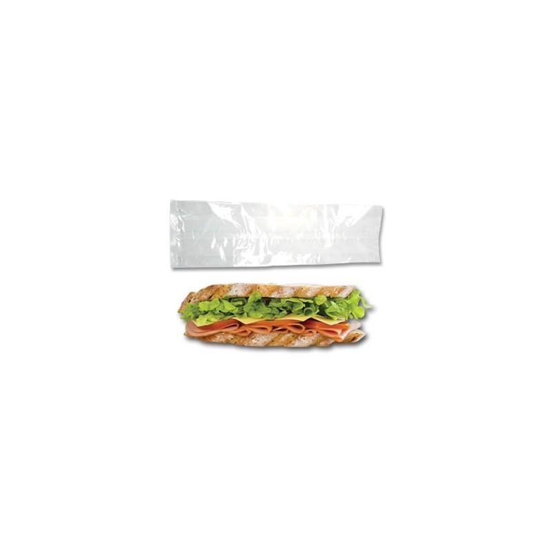 sac sandwich polypro transparent sandwicherie et boulangerie traité anti-graisse