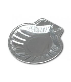 Plat aluminium en forme de Coquille St Jacques