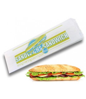 sac sandwich papier ingraissable