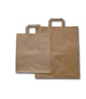 sac cabas kraft brun vente a emporter