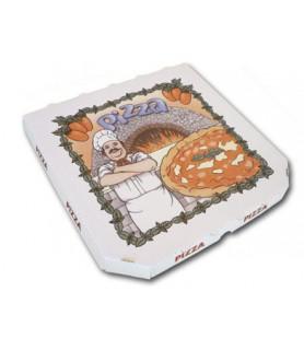 Boîtes à pizza PPT micro-cannelure