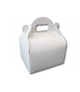 Caissettes blanches à poignées