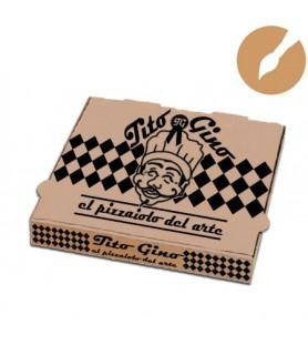 Boîte pizza personnalisée