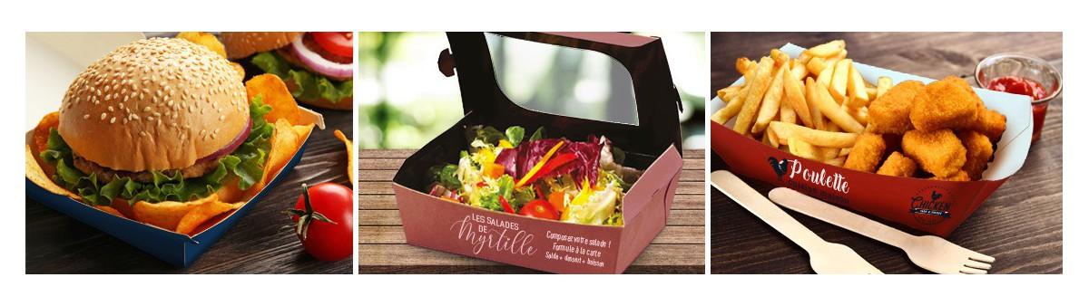 Emballage Snacking Personnalisé - Prix Compétitif !