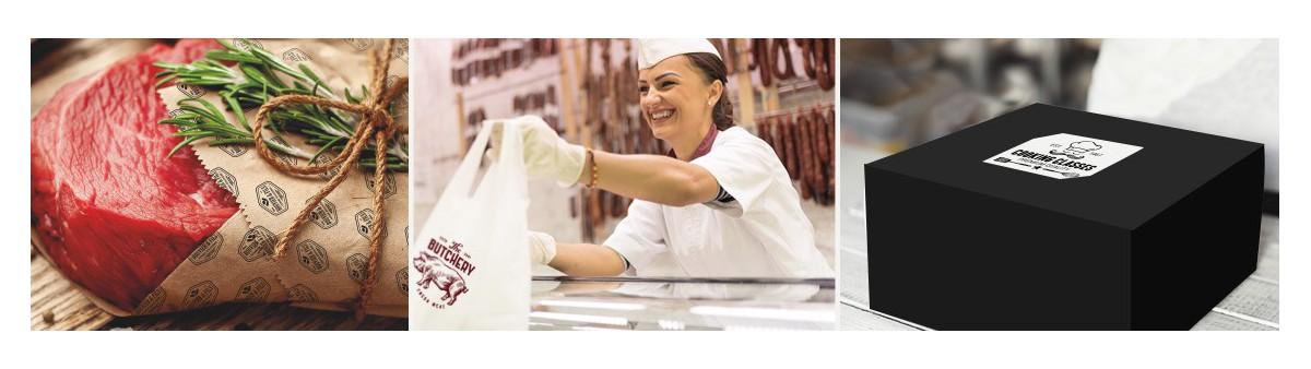 Emballage Boucherie & Traiteur Personnalisé  - Meilleurs Prix