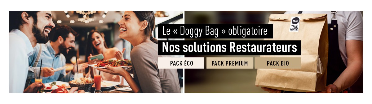 Doggy Bag - Solution Restaurant Emballage