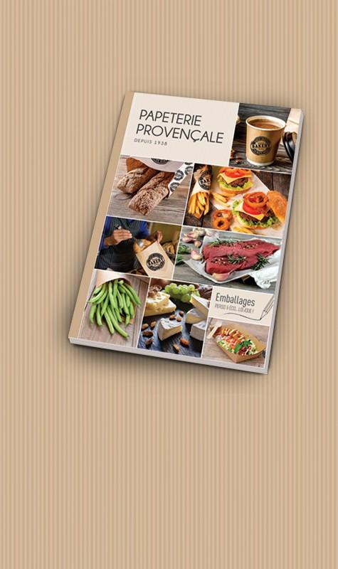 le catalogue de l'emballage alimentaire